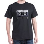 Customizable Cassette Tape - Grey Dark T-Shirt