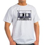 Customizable Cassette Tape - Grey Light T-Shirt