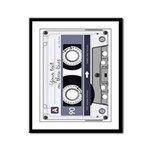 Customizable Cassette Tape - Grey Framed Panel Pri