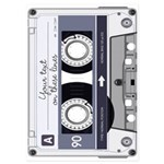 Customizable Cassette Tape - Grey 5x7 Flat Cards