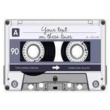 Customizable Cassette Tape - Gr Invitations