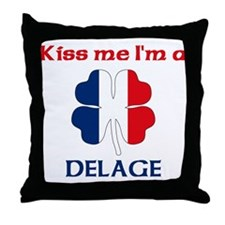 Delage Family Throw Pillow