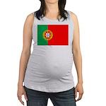 portuguese_flag.gif Maternity Tank Top