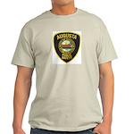 Augusta Police Ash Grey T-Shirt