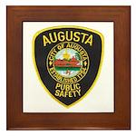Augusta Police Framed Tile