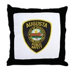 Augusta Police Throw Pillow