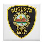 Augusta Police Tile Coaster