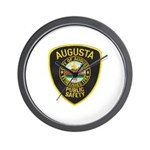 Augusta Police Wall Clock