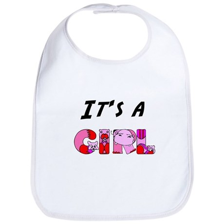 It's a GIRL Bib