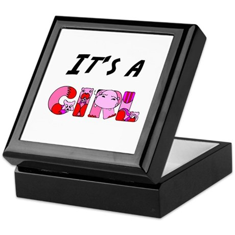 It's a GIRL Keepsake Box