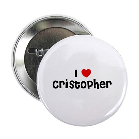 "I * Cristopher 2.25"" Button (10 pack)"