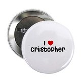 I * Cristopher 2.25&quot; Button (10 pack)