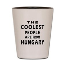 The Coolest Hungary Designs Shot Glass