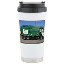 garbage truck love Ceramic Travel Mug