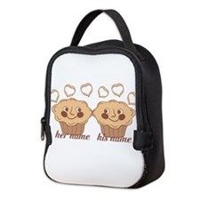 Personalized Cuddle Muffins Neoprene Lunch Bag