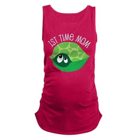 Turtle 1st Time Mom Maternity Tank Top