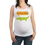 1st Time Mom Alligator Maternity Tank Top
