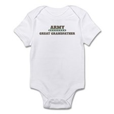 Army Stars Great Grandfather Infant Bodysuit