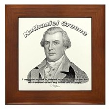 Nathaniel Greene 01 Framed Tile