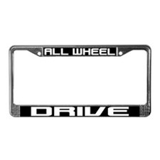 All Wheel Drive License Plate Frame