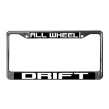 All Wheel Drift License Plate Frame