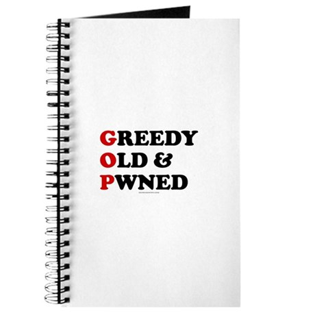 Greedy Old & Pwned Journal