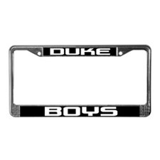 Duke Boys License Plate Frame