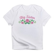 Big Sister Roses Infant T-Shirt