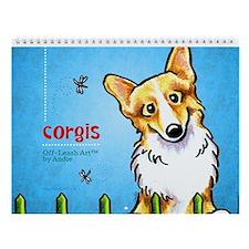Corgis Off-Leash Art™ Vol 1 Wall Calendar