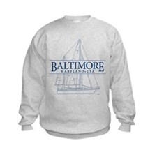 Baltimore Sailboat - Sweatshirt