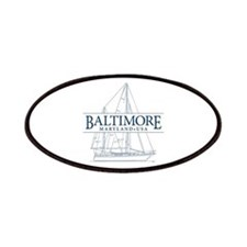Baltimore Sailboat - Patches