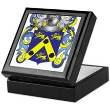 Giacomo Coat of Arms (Family Crest) Keepsake Box