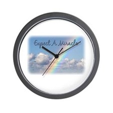 Expect A Miracle Wall Clock
