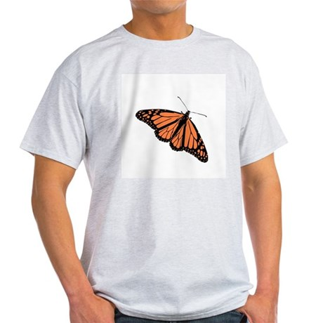 Butterfly Ash Grey T-Shirt