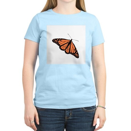 Butterfly Women's Pink T-Shirt