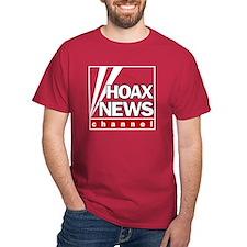 Hoax News Cardinal T-Shirt