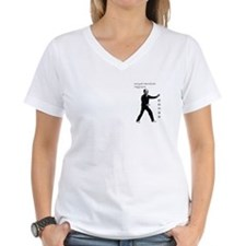 Woman's V-Neck Xing Yi Quan T-Shirt