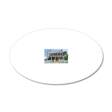 Appomattox Courthouse Histor 20x12 Oval Wall Decal