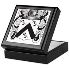 Gilliam Coat of Arms (Family Crest) Keepsake Box