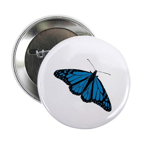 "Blue Butterfly 2.25"" Button (10 pack)"