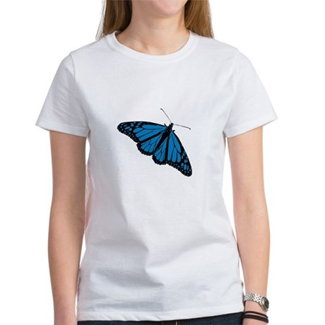 Blue Butterfly Women's T-Shirt