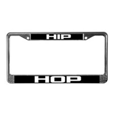 Hip Hop License Plate Frame