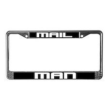 Mail Man License Plate Frame