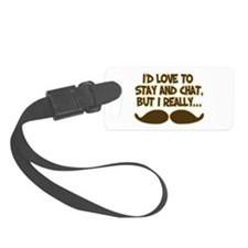 I Really Must-Dash Luggage Tag