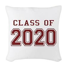 Class of 2020 Woven Throw Pillow