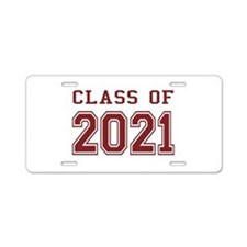 Class of 2021 Aluminum License Plate