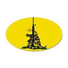 Gadsden & Culpepper Oval Car Magnet