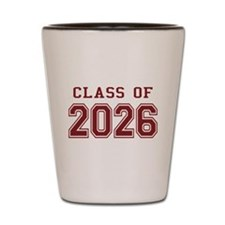 Class of 2026 (Red) Shot Glass