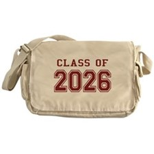 Class of 2026 (Red) Messenger Bag