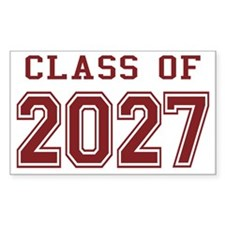 Class of 2027 (Red) Decal